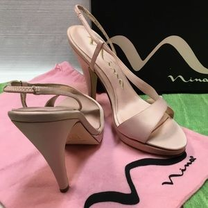 New in Box Ballet Pink Heels by Nina